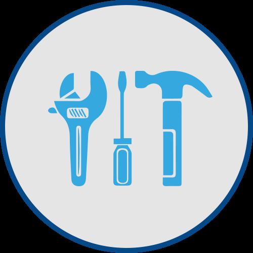 Service, Maintenance & Repair graphic